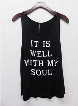 It Is Well With My Soul Tank